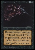 Collectors Ed: Terror (Not Tournament Legal)