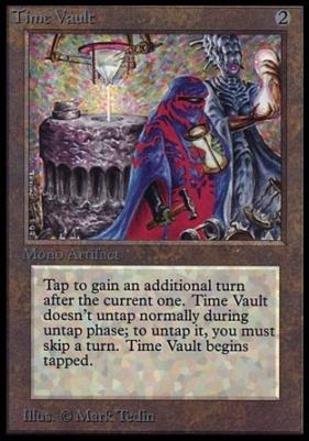 Collectors Ed: Time Vault (Not Tournament Legal)