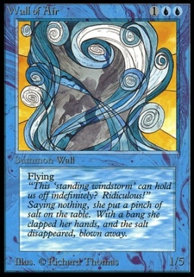 Collectors Ed: Wall of Air (Not Tournament Legal)