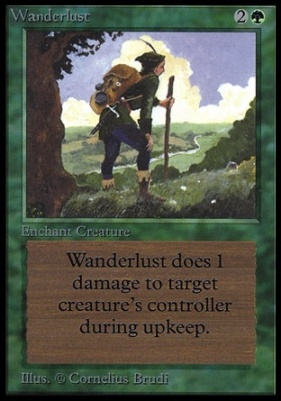 Collectors Ed: Wanderlust (Not Tournament Legal)