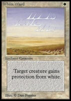 Collectors Ed: White Ward (Not Tournament Legal)