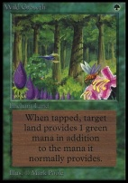 Collectors Ed: Wild Growth (Not Tournament Legal)