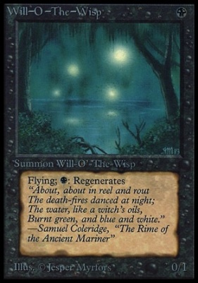 Collectors Ed: Will-O'-The-Wisp (Not Tournament Legal)