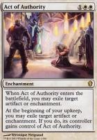 Commander 2013: Act of Authority