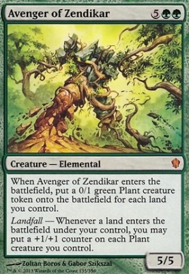 Commander 2013: Avenger of Zendikar
