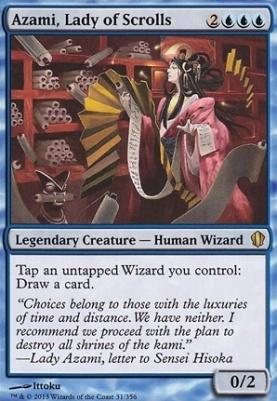 Commander 2013: Azami, Lady of Scrolls