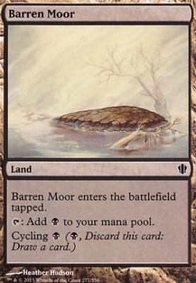 Commander 2013: Barren Moor