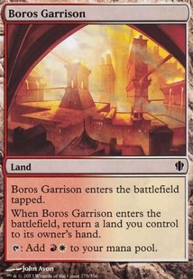 Commander 2013: Boros Garrison