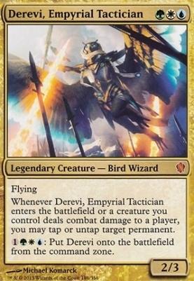 Commander 2013: Derevi, Empyrial Tactician (Oversized Foil)