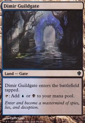Commander 2013: Dimir Guildgate