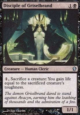 Commander 2013: Disciple of Griselbrand