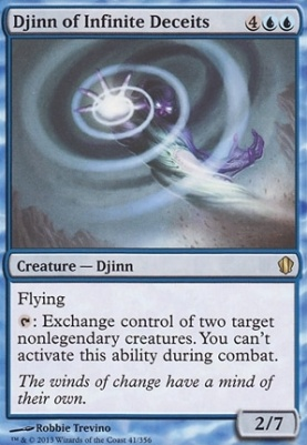 Commander 2013: Djinn of Infinite Deceits