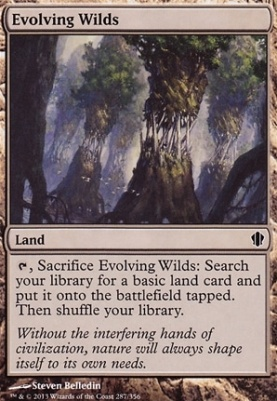Commander 2013: Evolving Wilds