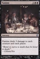 Commander 2013: Famine