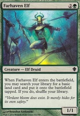Commander 2013: Farhaven Elf