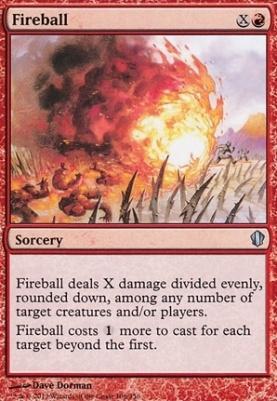 Commander 2013: Fireball