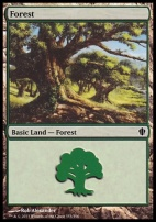 Commander 2013: Forest (353 A)
