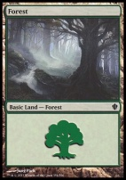 Commander 2013: Forest (354 B)