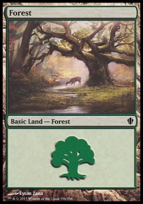 Commander 2013: Forest (356 D)