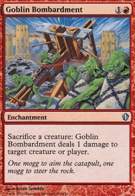 Commander 2013: Goblin Bombardment