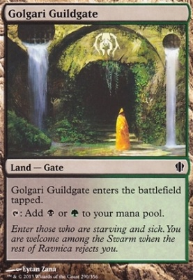 Commander 2013: Golgari Guildgate