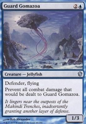 Commander 2013: Guard Gomazoa