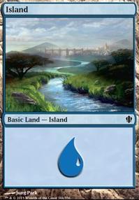 Commander 2013: Island (344 D)