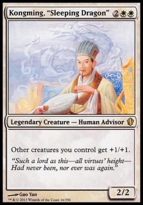 Commander 2013: Kongming,