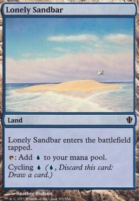 Commander 2013: Lonely Sandbar