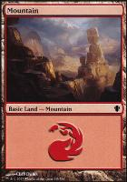 Commander 2013: Mountain (349 A)