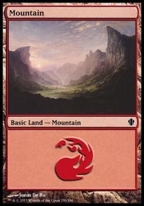 Commander 2013: Mountain (350 B)