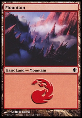 Commander 2013: Mountain (352 D)