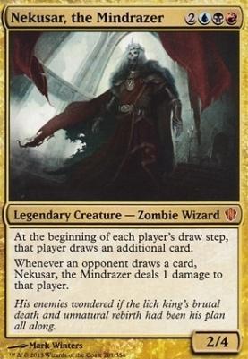 Commander 2013: Nekusar, the Mindrazer (Oversized Foil)