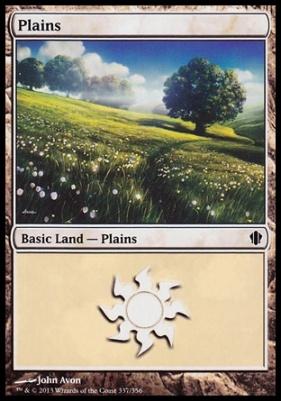 Commander 2013: Plains (337 A)