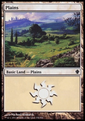 Commander 2013: Plains (338 B)