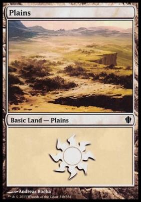Commander 2013: Plains (340 D)