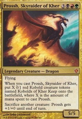 Commander 2013: Prossh, Skyraider of Kher