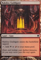 Commander 2013: Rakdos Guildgate