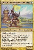 Commander 2013: Roon of the Hidden Realm (Oversized Foil)