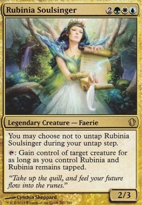 Commander 2013: Rubinia Soulsinger