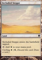 Commander 2013: Secluded Steppe