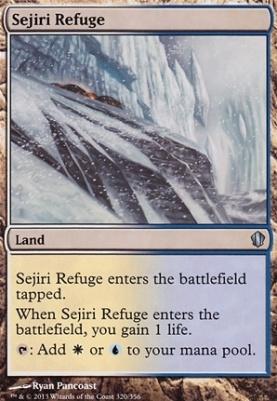 Commander 2013: Sejiri Refuge