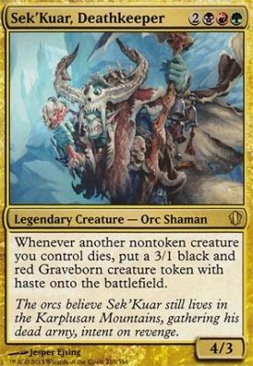 Commander 2013: Sek'Kuar, Deathkeeper