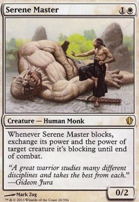 Commander 2013: Serene Master