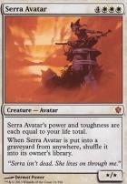 Commander 2013: Serra Avatar