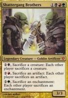 Commander 2013: Shattergang Brothers (Oversized Foil)
