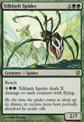 Commander 2013: Silklash Spider