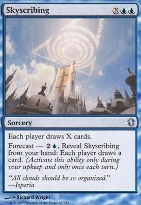 Commander 2013: Skyscribing