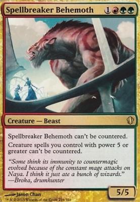 Commander 2013: Spellbreaker Behemoth