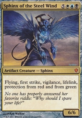 Commander 2013: Sphinx of the Steel Wind